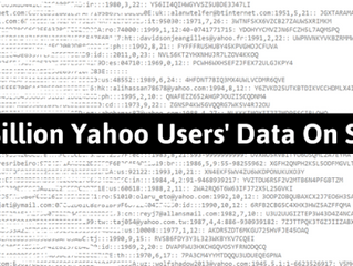 1 Billion Yahoo account details sold for $300,000