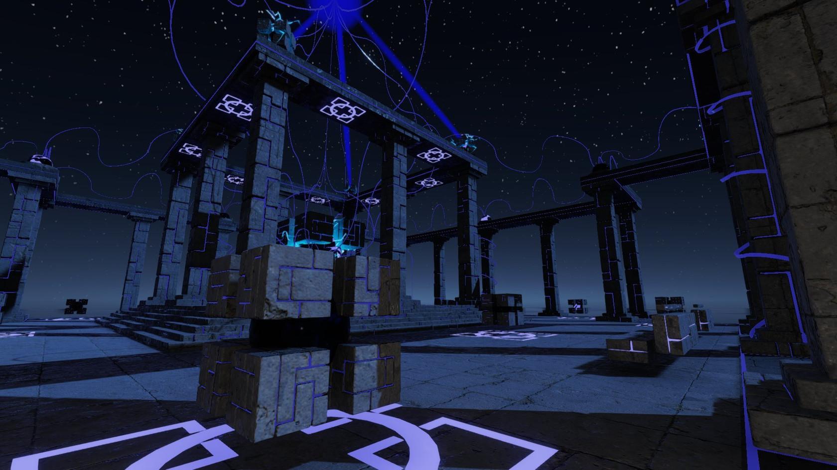 Alien Temple by Torax