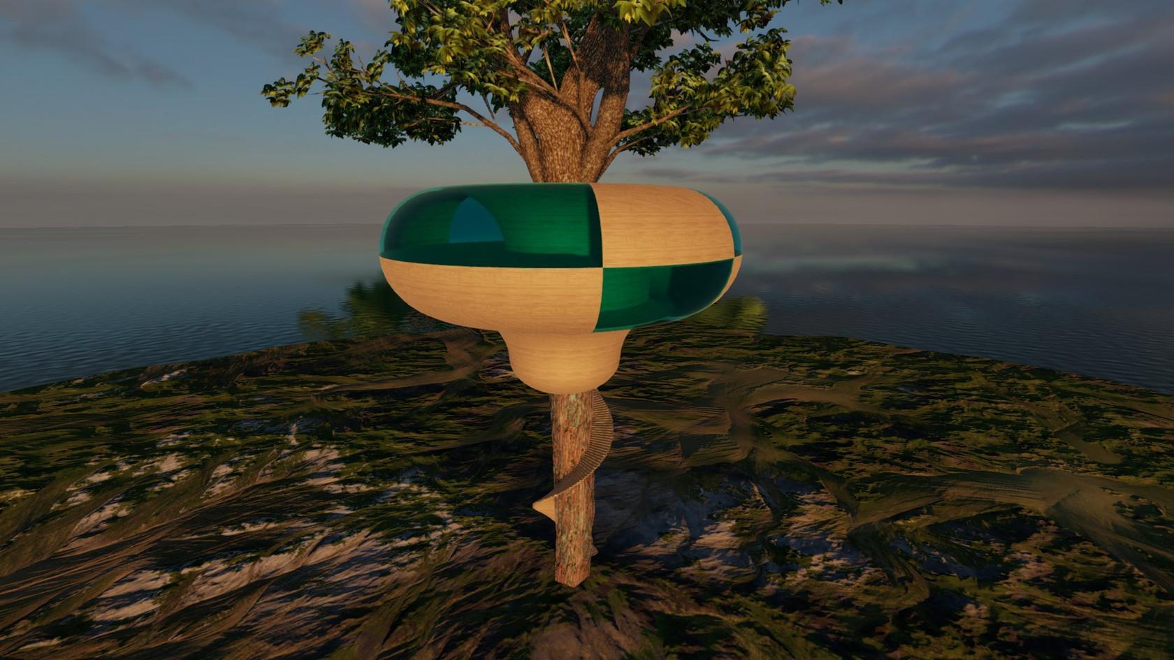 Empty Tree House by Torax