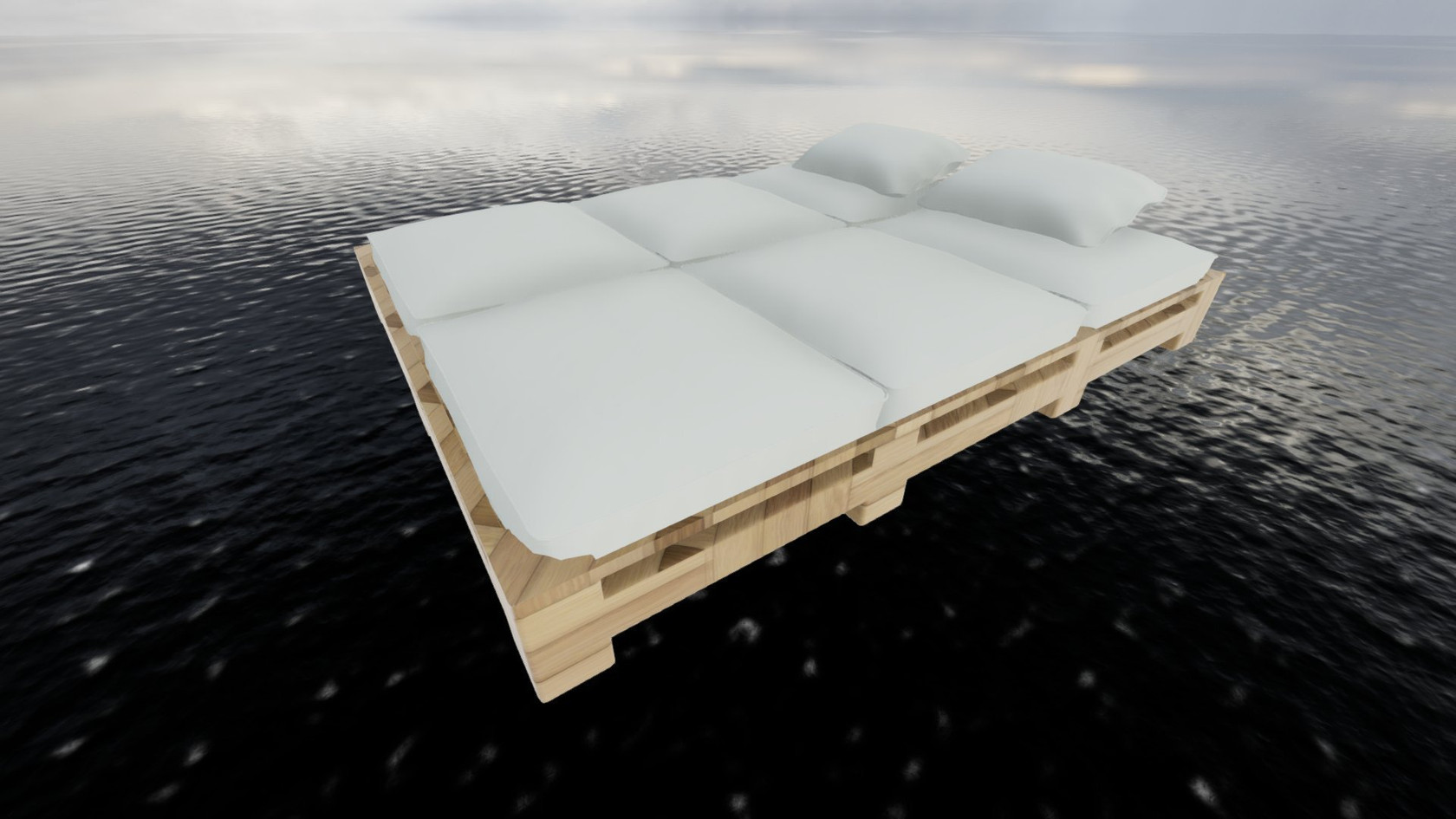 Pool Bed by Torax