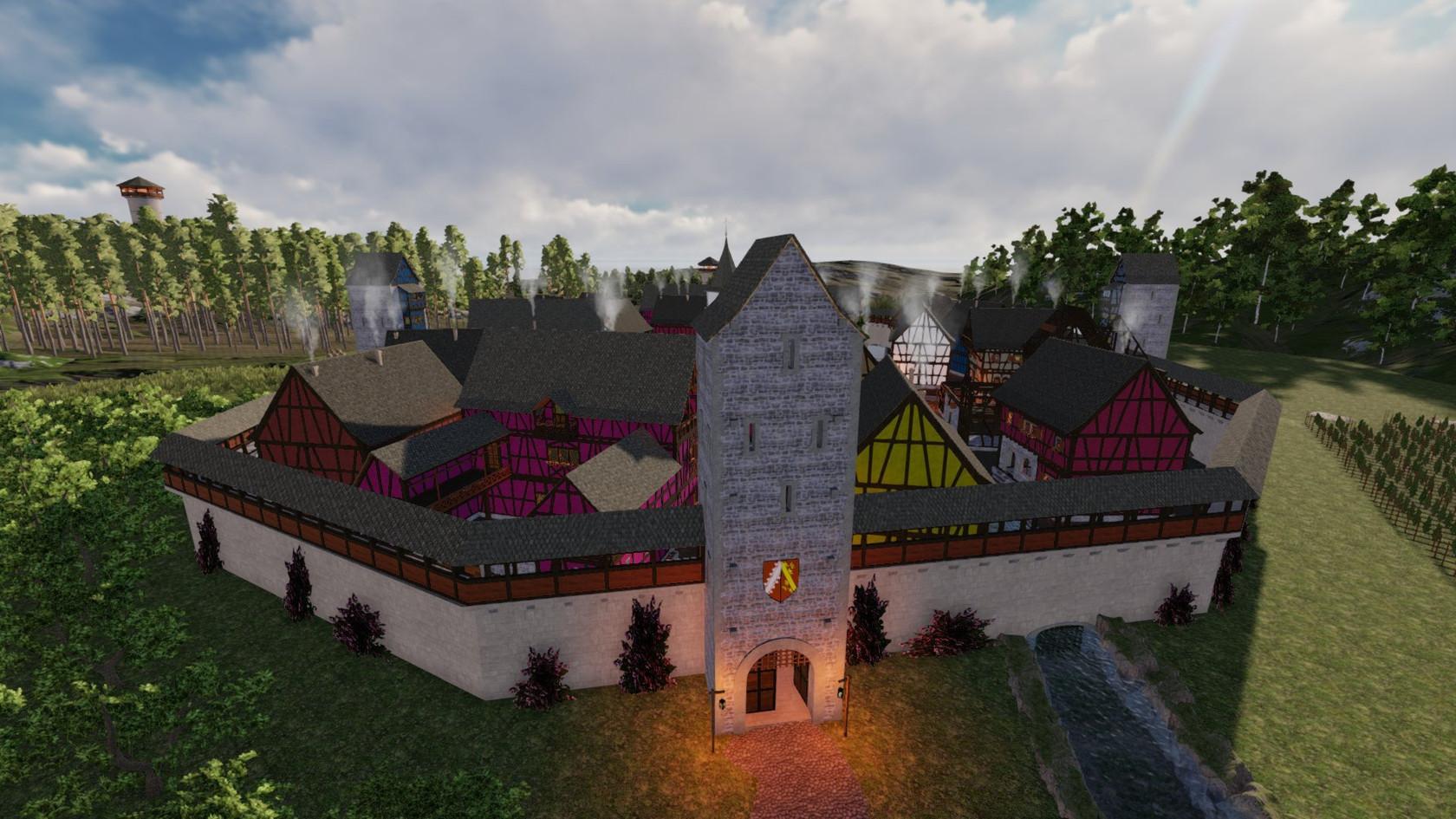 Alsacian Village by Torax