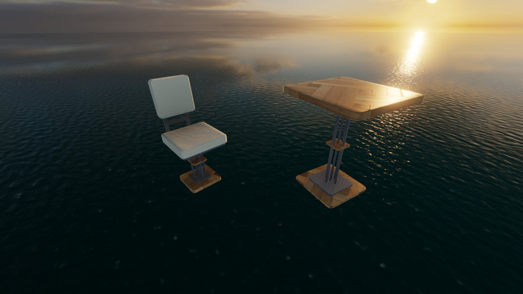Table and Chair by Torax