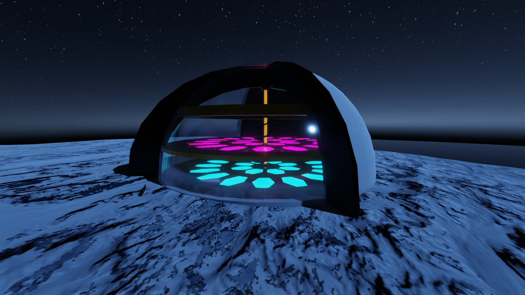 Empty Moonbase by ImJustZoey