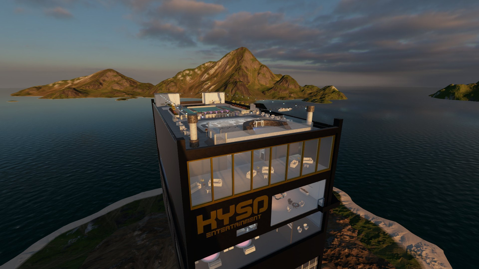 Kyso Entertainment Central Home  by Kylan