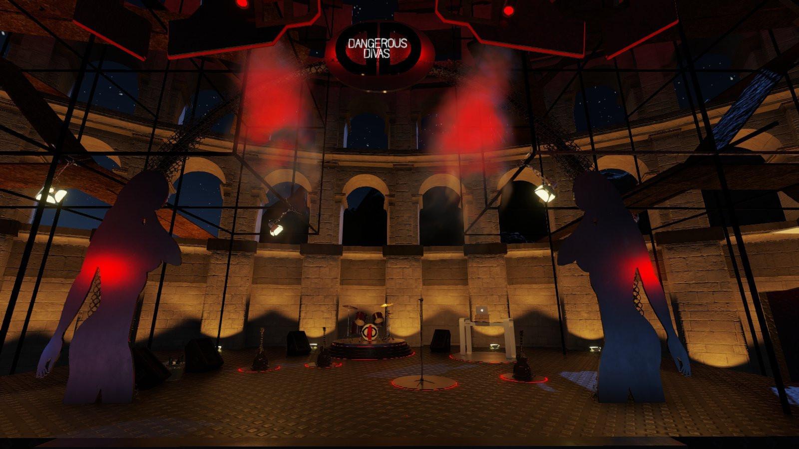 Dangerous Divas Arena Ruins by Anaganda