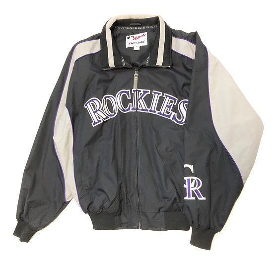 Colorado Rockies Warm Up Jacket