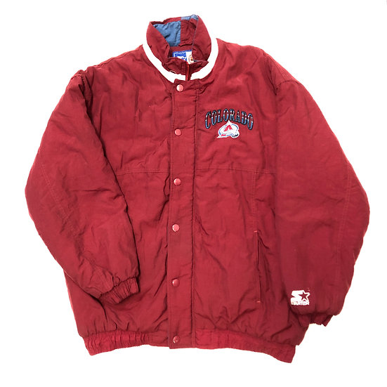 90s Colorado Avalanche Starter Jacket