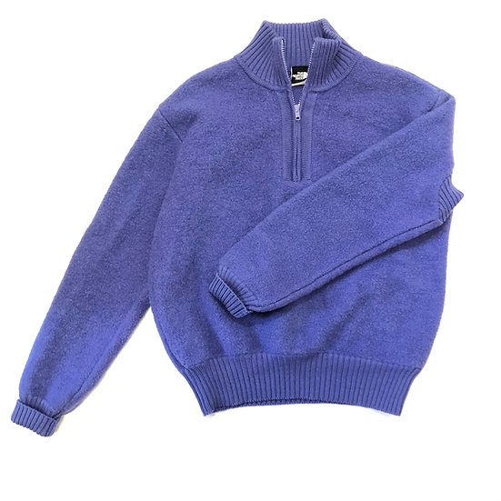 80s/90s The North Face Women's Wool Quarter Zip