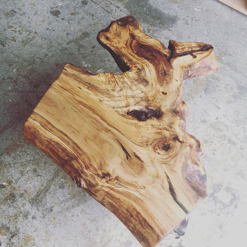 Crazy Cottonwood coffee table top. Say t