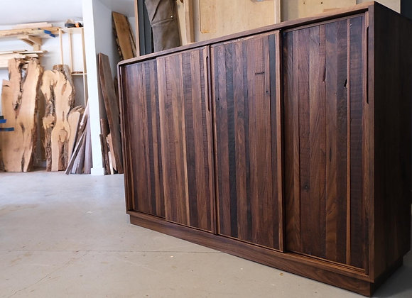 Timber Whiskey Cabinet