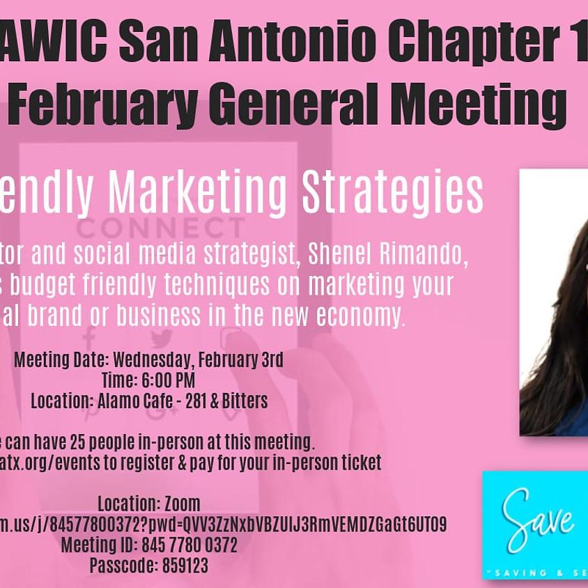 February General Meeting