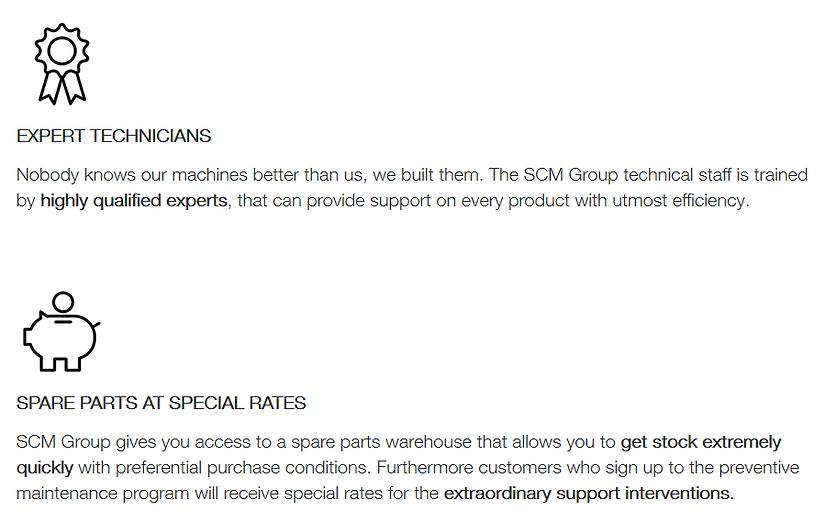 SCM Maintenance