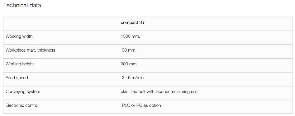 Superfici Compact 3R Spraying Machine Te