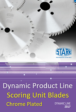 Stark Dynamic Scoring Blades Chrome Plat