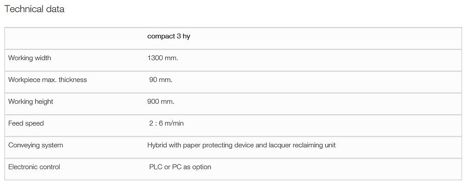 Superfici Compact 3HY Spraying Machine T