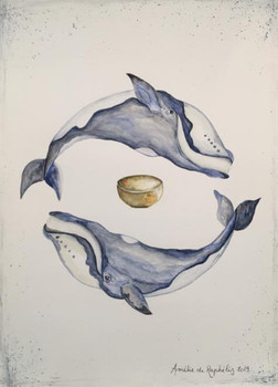 Baleines Boréales et bol tibétain