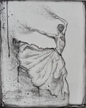 Danseuse à jupon