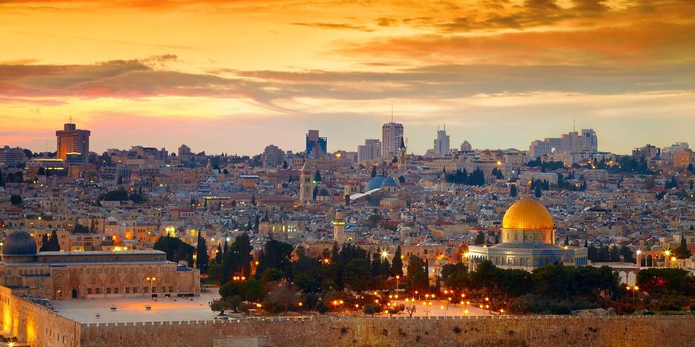 KEVÄTMATKA ISRAELIIN