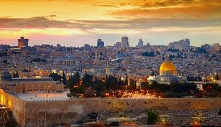 View to Jerusalem old city. Israel_edite
