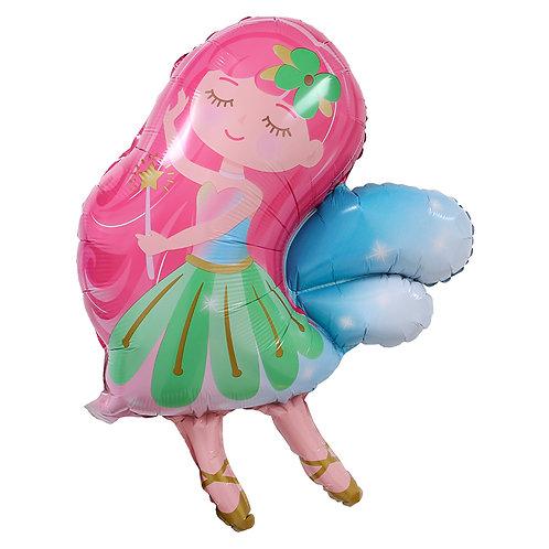 70cm x 60cm The Flower Fairy Foil Balloon