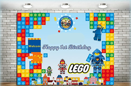 Lego Photography­ Background Eco Polyester Backdrops 2.5m x 2m