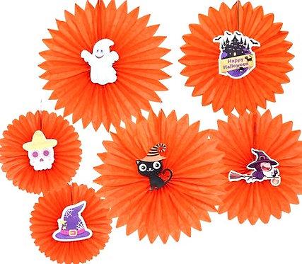Halloween Party Decor Kit - Hanging Fan