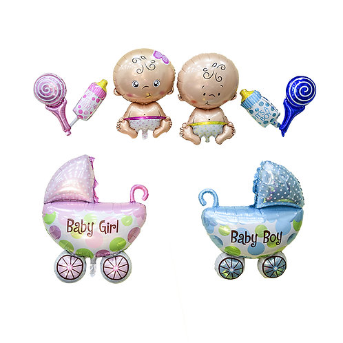 Large Cute Baby Shower Balloon Decorations