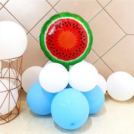 Round Watermelon HBD Fruit Balloon Set