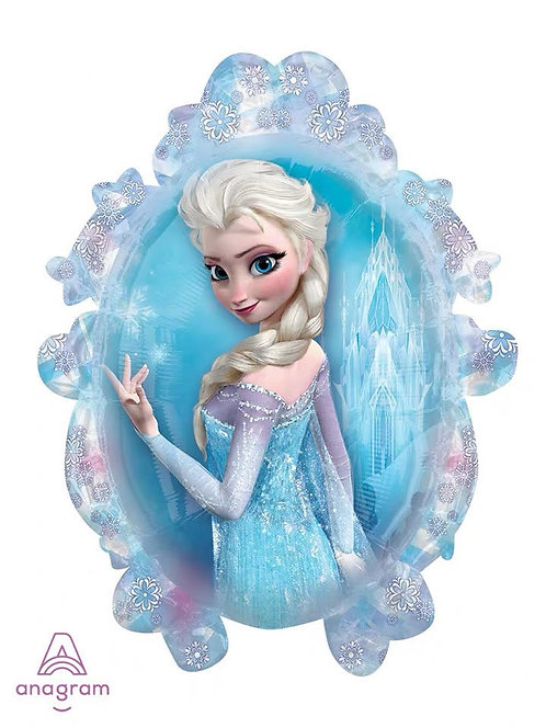 Anagram From US - 78cm x 63cm Frozen Princess Double Side Foil Balloon- 27.2g