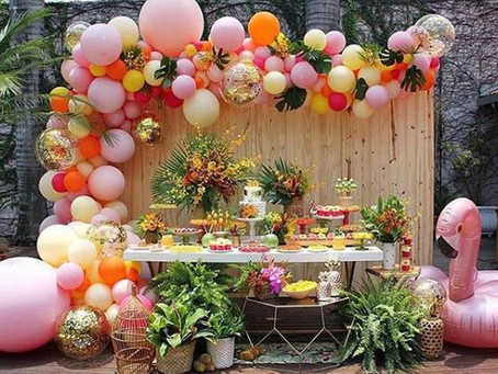 How to set up a party with balloons