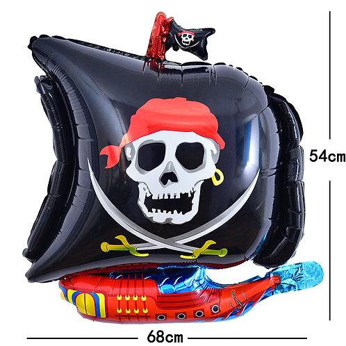 Halloween Pirate Foil Balloon