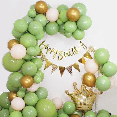 Avocado Green Birthday Balloon Garland Kit