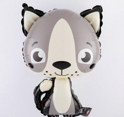 50x33cm Cartoon Beaver Bright Foil Balloon