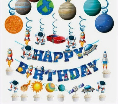 Outer Space Birthday Party Decorations