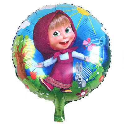 18 inch Little Girl Marsha Aluminum Film Balloon