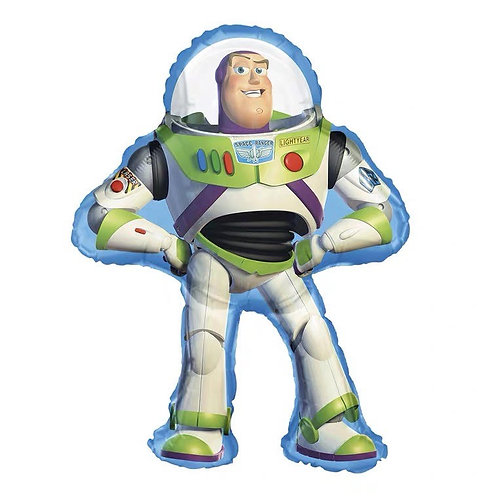 Anagram From US - 89cm x 61cm Buzz Lightyear Toy Story Foil Balloon - 16.8g