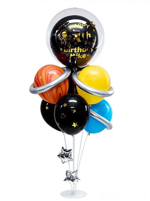 Anagram From US - Galaxy Theme Balloon Stander Set