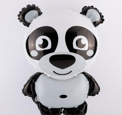 45x35cm Cartoon Panda Bright Foil Balloon