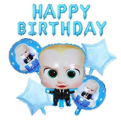 Baby Boss Themed Balloon Set 6 Pcs