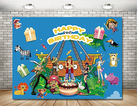 ONE PIECE Photography­ Background Eco Polyester Backdrops 2.5m x 2m