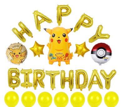 PikachuTheme BalloonParty Box - Set C