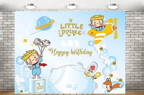 Little Prince Photography­ Background Eco Polyester Backdrops 2m x 1.5m
