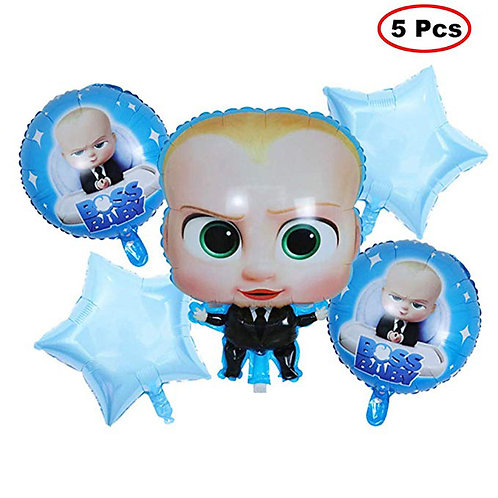 Baby Boss Themed Balloon Party Box 5 Pcs