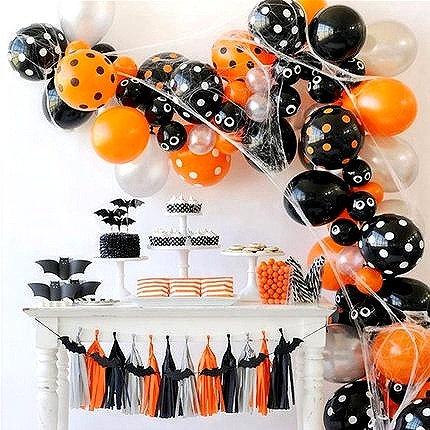 Halloween Theme Balloon Party Box-C