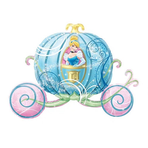 Anagram From US - 83cm x 58cm Cinderella Pumpkin Carriage Foil Balloon - 20.1g