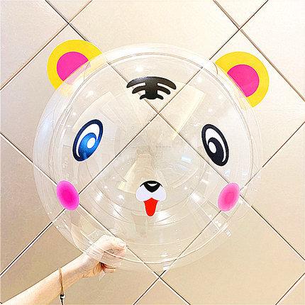22 inch Little Tiger Transparent Latex Balloon