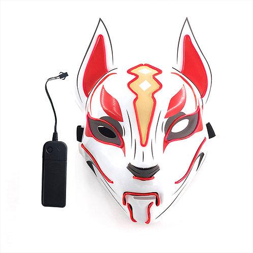 Halloween Light Up LED Fortnite Drift Mask Handmade