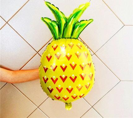 48x48cm Pineapple Fruit Foil Balloon