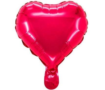 75cm Large Heart Shape Red Foil Balloon
