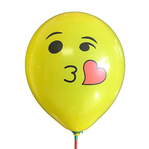 Emoji Latex Balloons 1pc